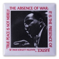 Martin Luther King, Jr. Peace Button
