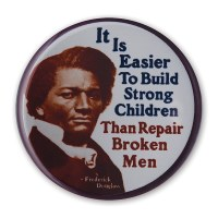 Frederick Douglass Quote Button