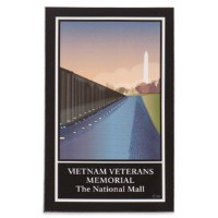 Vietnam Veterans Memorial - The National Mall Magnet