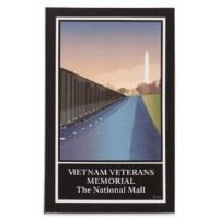 Vietnam Veterans Memorial - The National Mall Magnet