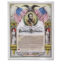 Replica Emancipation Proclamation Print