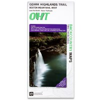 Ozark Highlands Trail Boston Mountains West Map