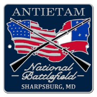 Antietam National Battlefield Hiking Stick Medallion