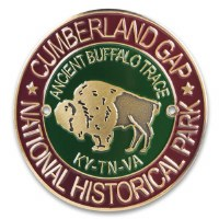 Cumberland Gap National Historic Park Hiking Stick Medallion
