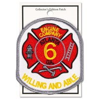Engine Company No. 6 Patch