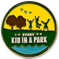 Every Kid In A Park Pin