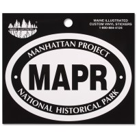 Manhattan Project Euro Decal