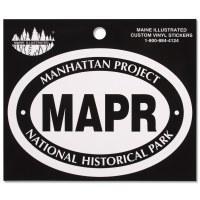 Manhattan Project Euro Decal