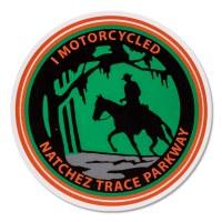 I Motorcycled Natchez Trace Parkway