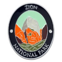 Zion National Park Walking Stick Medallion
