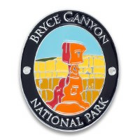 Bryce Canyon National Park Walking Stick Medallion