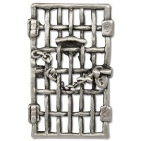 Woman's Suffrage Jailhouse Door Pin