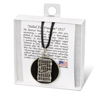Women's Suffrage Jailhouse Door Pendant Necklace