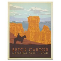 Bryce Canyon Classic National Park Poster