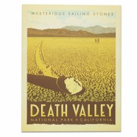 Death Valley National Park Classic Travel Poster