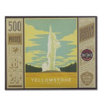 Yellowstone National Park 500 Piece Puzzle