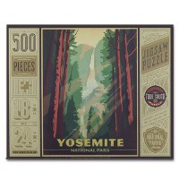 Yosemite National Park 500 Piece Puzzle