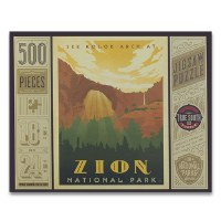 Zion National Park 500 Piece Puzzle