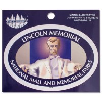 Lincoln Memorial Decal Sticker