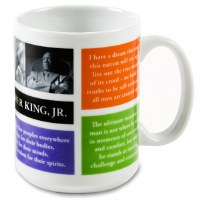 Martin Luther King Jr. Quote Mug