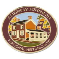 Andrew Johnson Early Home Pin