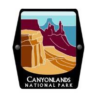 Canyonlands National Park Trekking Pole Decal