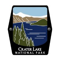 Crater Lake National Park Trekking Pole Decal