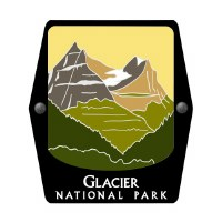 Glacier National Park Trekking Pole Decal