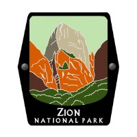 Zion National Park Trekking Pole Decal
