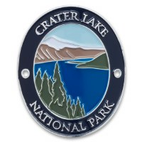 Crater Lake National Park Walking Stick Medallion