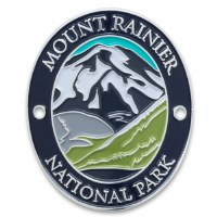 Mount Rainer National Park Walking Stick Medallion