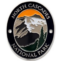 North Cascades National Park Walking Stick Medallion