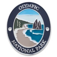 Olympic National Park Walking Stick Medallion