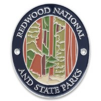 Redwood National and State Parks Walking Stick Medallion