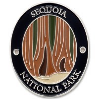 Sequoia National Park Walking Stick Medallion