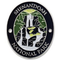 Shenandoah National Park Hiking Stick Medallion