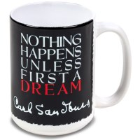Carl Sandburg Dream Mug
