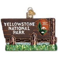 Yellowstone National Park Holiday Ornament