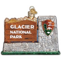 Glacier National Park Holiday Ornament