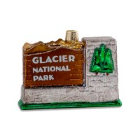 Glacier National Park Holiday Ornament
