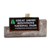 Great Smoky Mountains National Park Holiday Ornament