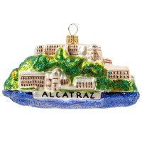 Alcatraz Island Holiday Ornament