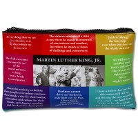 Martin Luther King, Jr. Zip Pouch