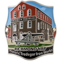 Tredegar Iron Works Hiking Medallion