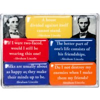 Lincoln Quotes Mini Magnets