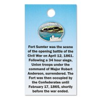 Fort Sumter Scene Pin