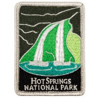 Hot Springs National Park Collectible Patch