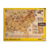 Battles of the Civil War Map Puzzle