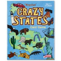 Crazy States Card Game
