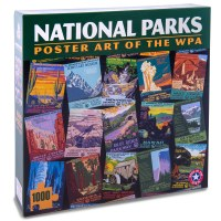 National Parks Poster Art of the WPA Puzzle